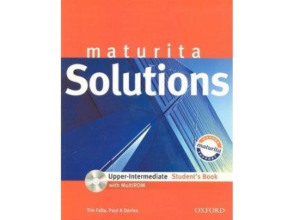 Maturita Solutions Upper-intermediate Student's Book