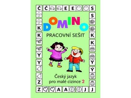 Domino Český jazyk pro malé cizince 2 - pracovní sešit