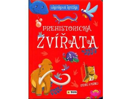Prehistorická zvířata okénková knížka