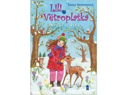 Lili Větroplaška Srnečka ve sněhu