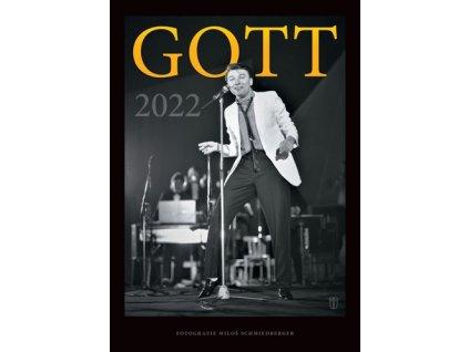 Exklusivní nástěnný kalendář Gott 2022