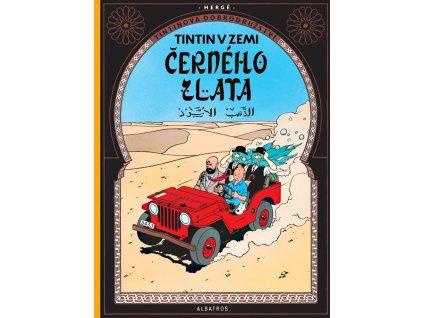 Tintin (15) - Tintin v zemi černého zlata