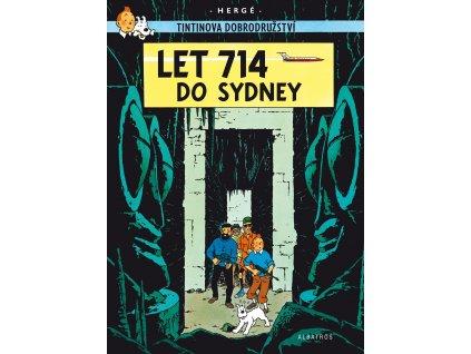 Tintin (22) - Let 714 do Sydney