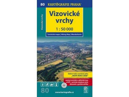 Vizovické vrchy 1:50 000