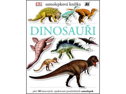 Samolepková knížka Dinosauři