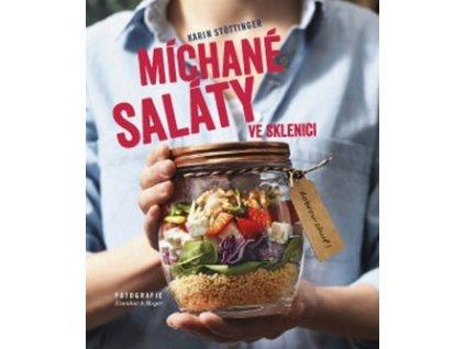 Míchané saláty ve sklenici