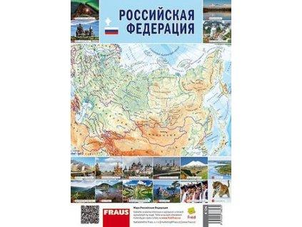 Ruská federace Mapa