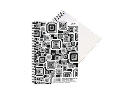 Blok Black & White A5 linka