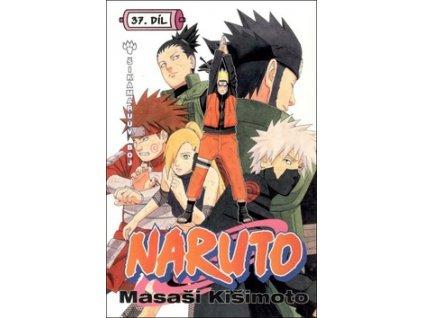 Naruto 37 Šikamaruův boj