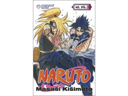 Naruto 40 Absolutní umění