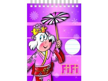 Blok Čtyřlístek Fifi A6