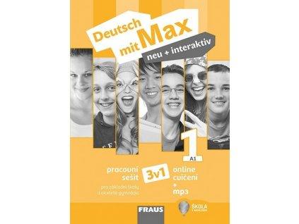 Deutsch mit Max neu + interaktiv 1 Pracovní sešit 3v1