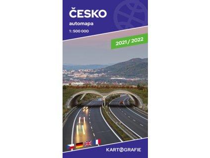 Česko automapa 1 : 500 000