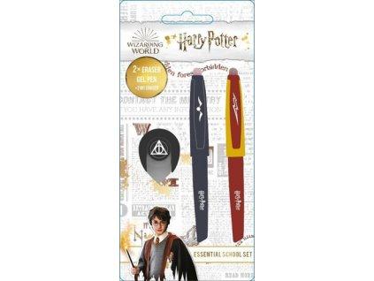 Gumovací pera v setu Harry Potter