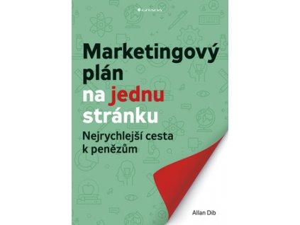 Marketingový plán na jednu stránku