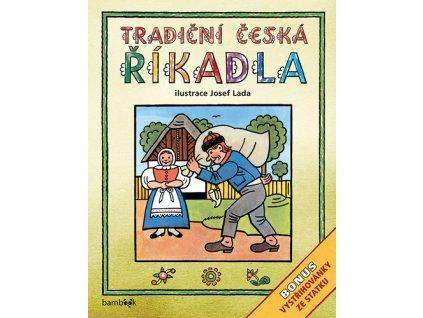 Tradiční česká ŘÍKADLA Josef Lada