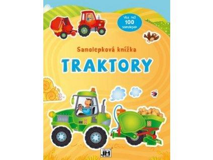 Samolepková knížka Traktory