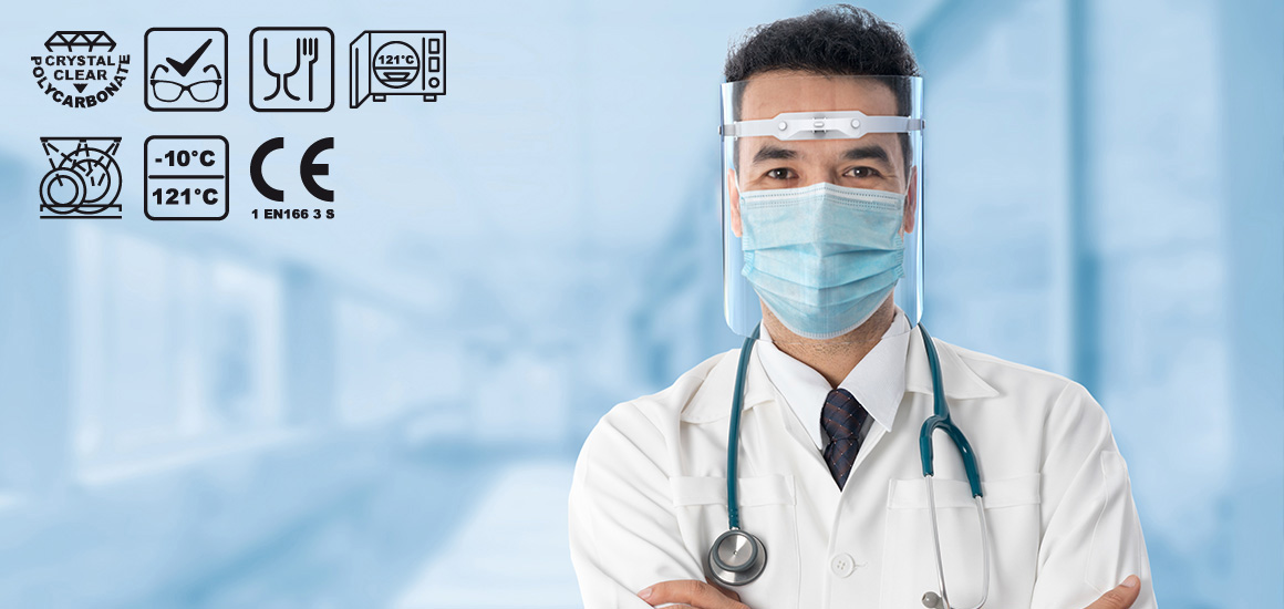 oblicejovy stit FS 253 lekar