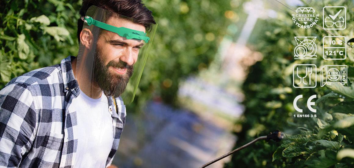ochranny stit FS 253 - zahradnik, zemedelec