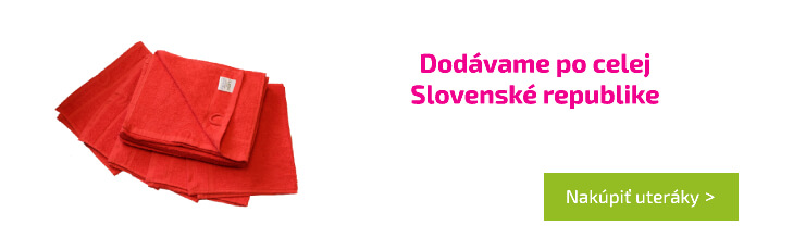 Dodávame po celej Slovenské republike