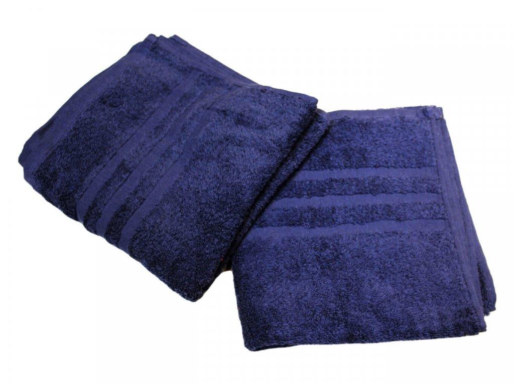 Ručník pro paní učitelky 50x100 cm Tmavě modrý 1