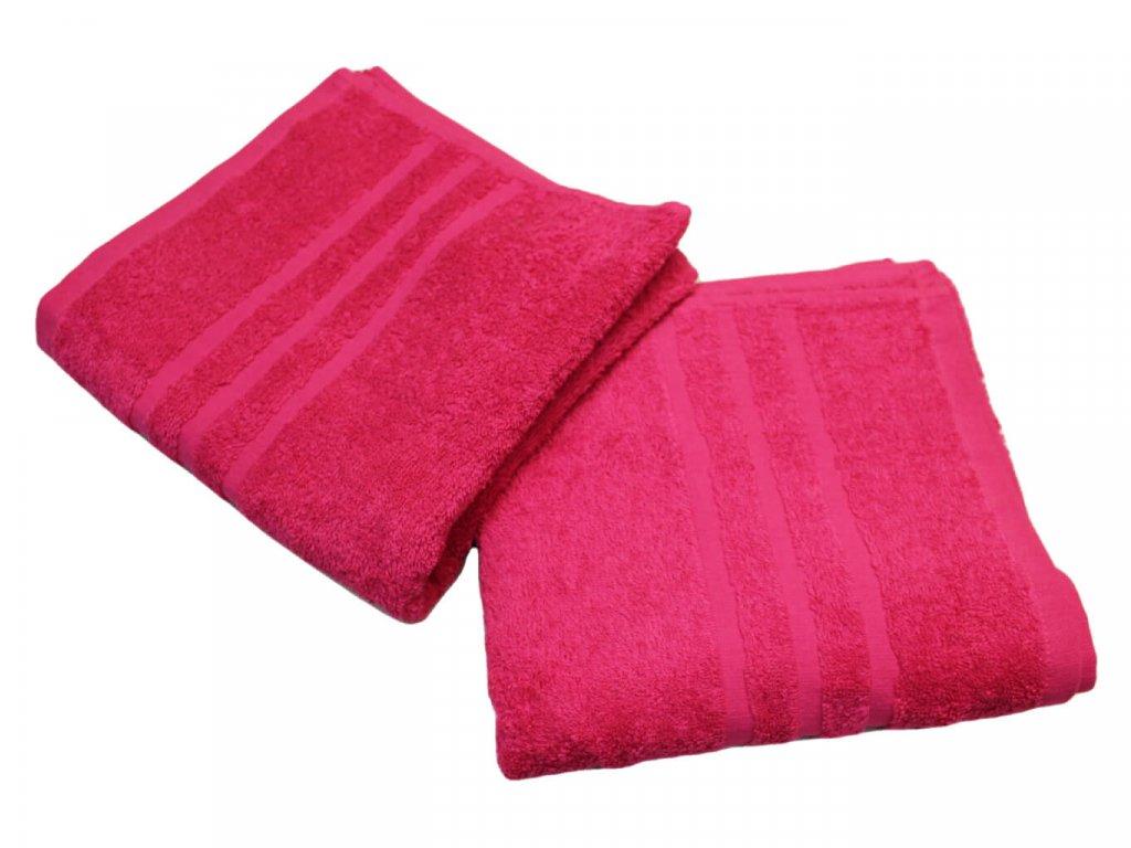 Ručník pro paní učitelky 50x100 cm purpurový 1