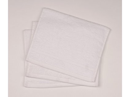 Dětský ručník pro mateřské školy 30x50 cm Bílý