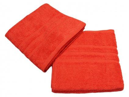 Ručník pro paní učitelky 50x100 cm červený 1