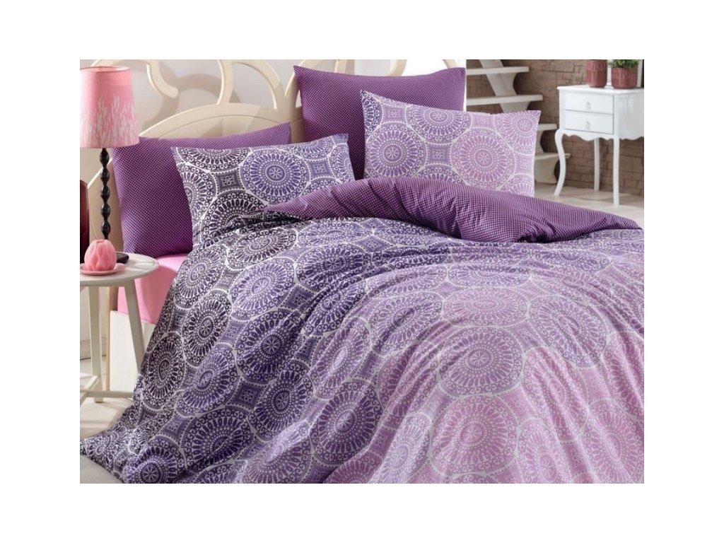 4736 obliecky bavlna deluxe colin lila 140x200