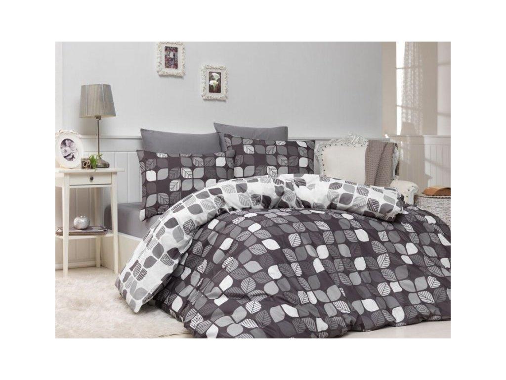 4742 obliecky bavlna deluxe bunk sedej 140x200