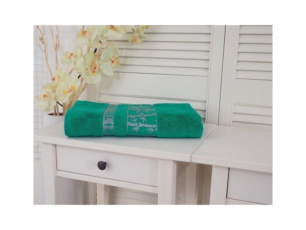 5189 bamboo osuska extra sava green 70x140