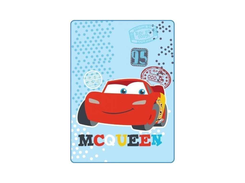 3011 licencna detska deka akryl cars 80x110
