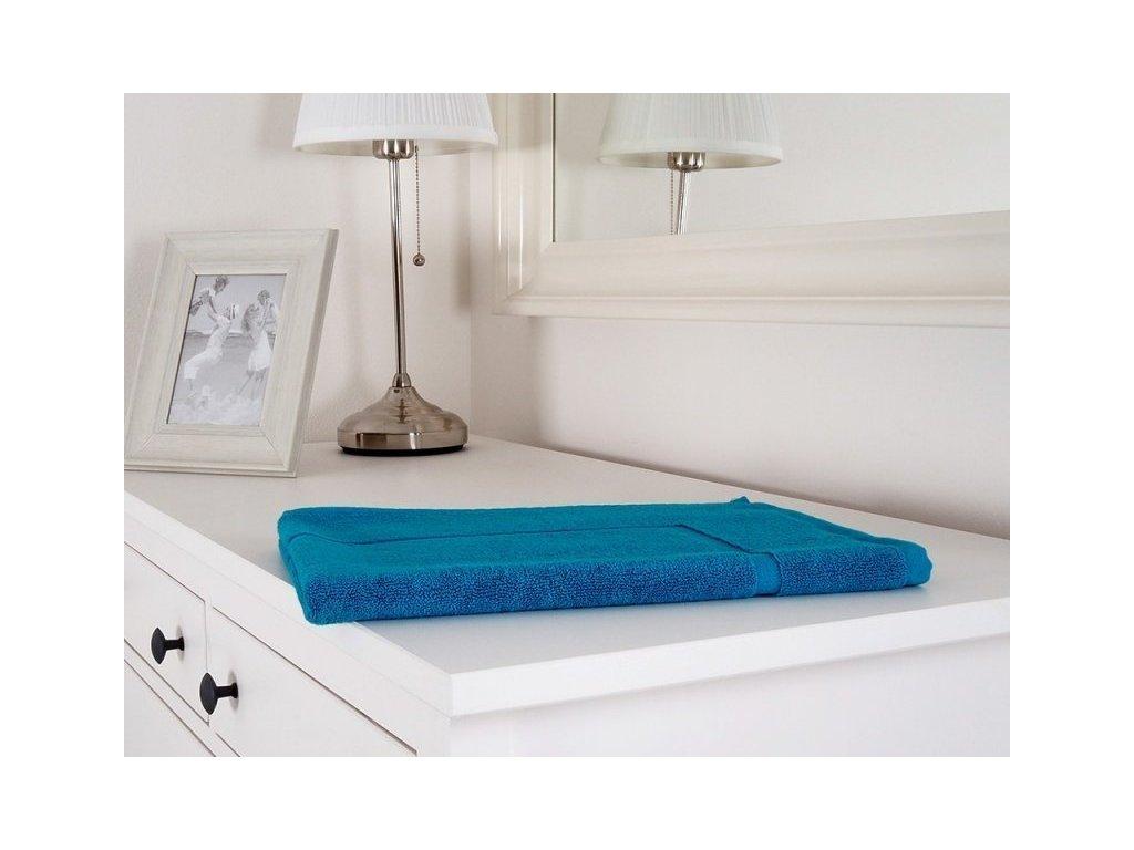 2696 kupelnova predlozka hotel comfort azurovo modra 50x70 cm