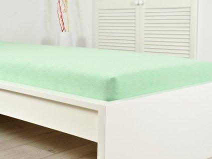 1172 frote elasticke prosteradlo atypicky rozmer 200 x 220 cm zelena