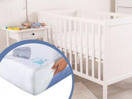2543 hygienicky chranic matraca do detskej postielky 70x140 cm