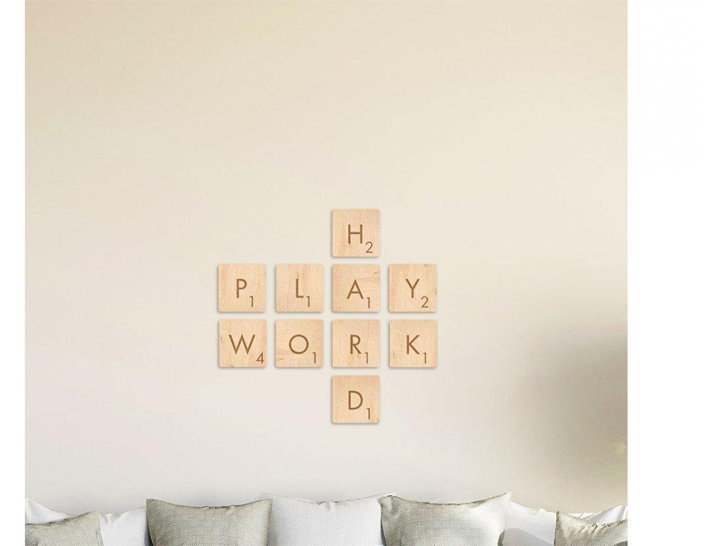 SCRABBLE SADA Play_Work_Hard