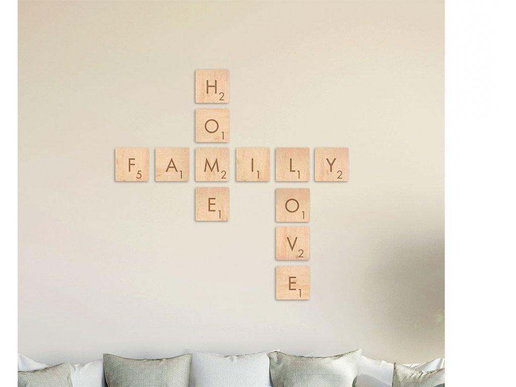 SCRABBLE SADA Family_Home_Love
