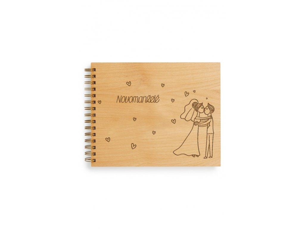 Svatební kniha hostů - novomanželé