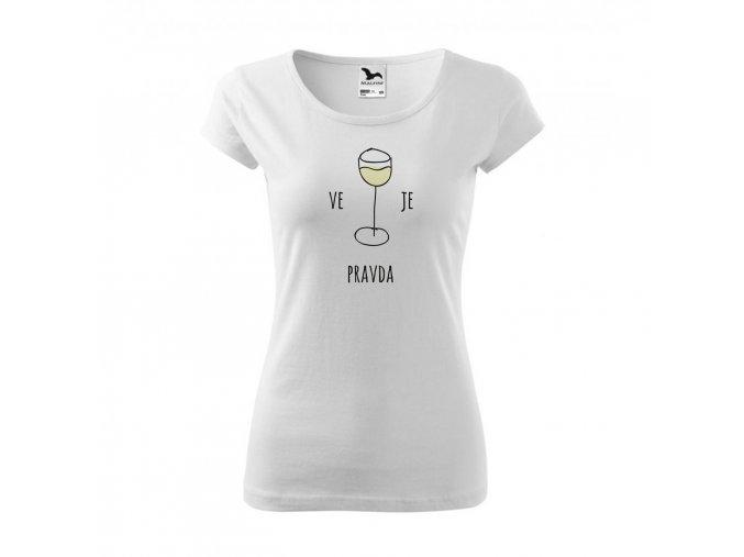 triko zena vino biele eshop