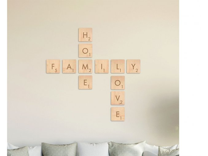 SCRABBLE SADA Family_Home_Love