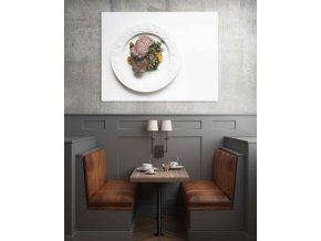 Obraz steak - 95 x 75 cm