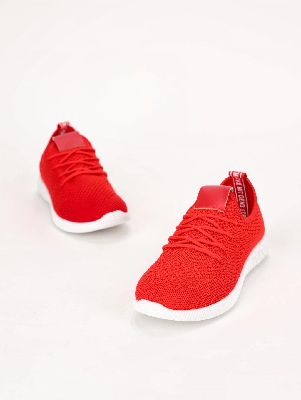 cervene latkove tenisky MEY 02RED 1
