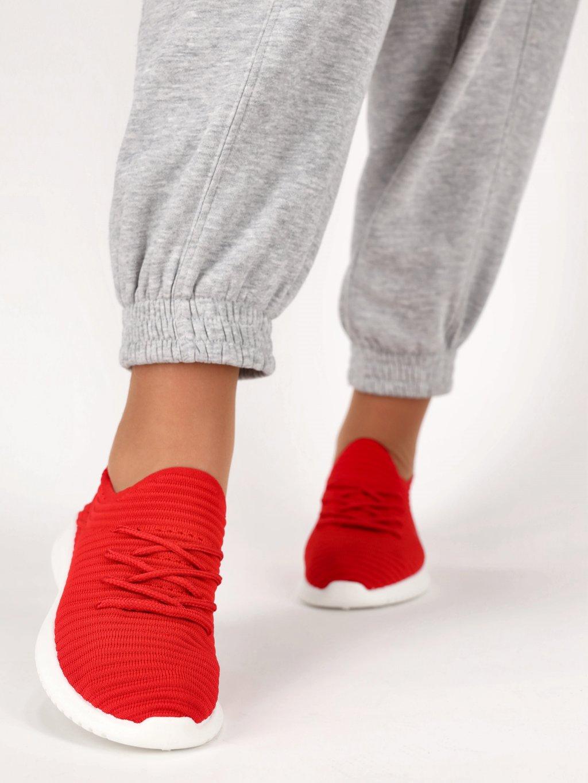 cervene damske tenisky mdb3 1