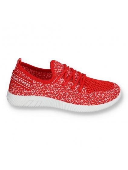 cervene damske tenisky MEY 03 RED 1