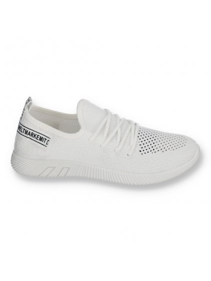 biele tenisky latkove MEY 03WHITE 1