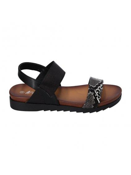 damske cierne sandale cb1902 1 1