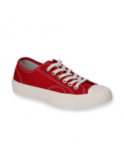 damske cervene platenky LC9722 8 RED 2