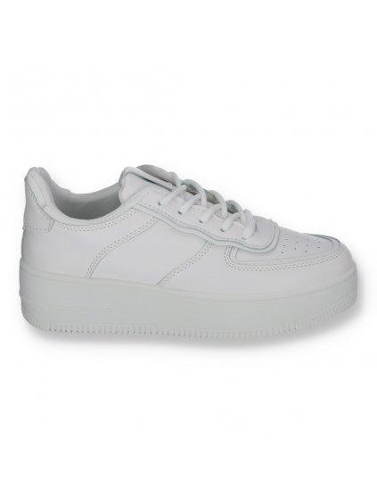 biele dmske tenisky 205090ALLWHITE 1