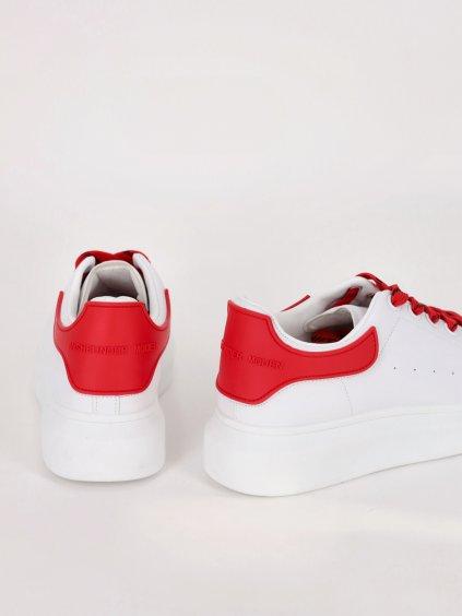 bielo cervene tenisky damske 205065WHITERED 1