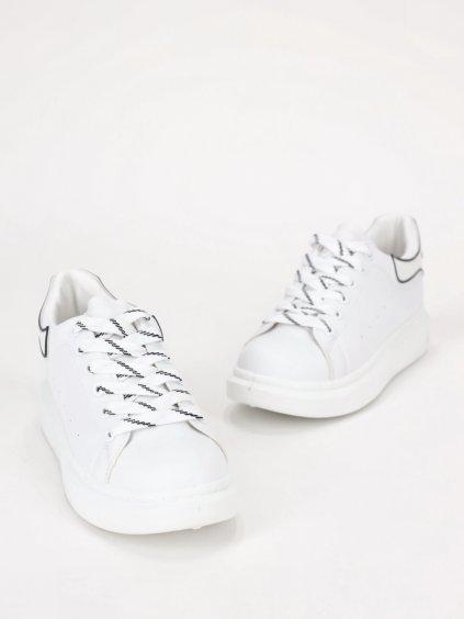 biele tenisky 205065WHITE 1